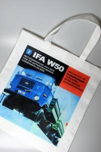 Tragetasche 01 Motiv IFA W50 blau