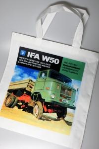 Tragetasche 03 Motiv IFA W50 grün