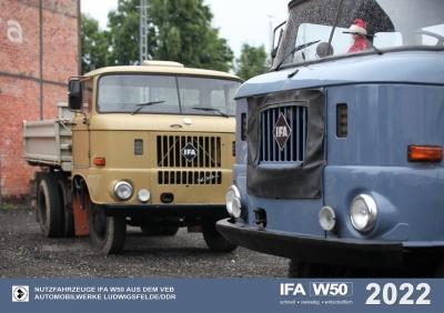 """""""IFA W50"""" im Einsatz Kalender 2020 plus"""